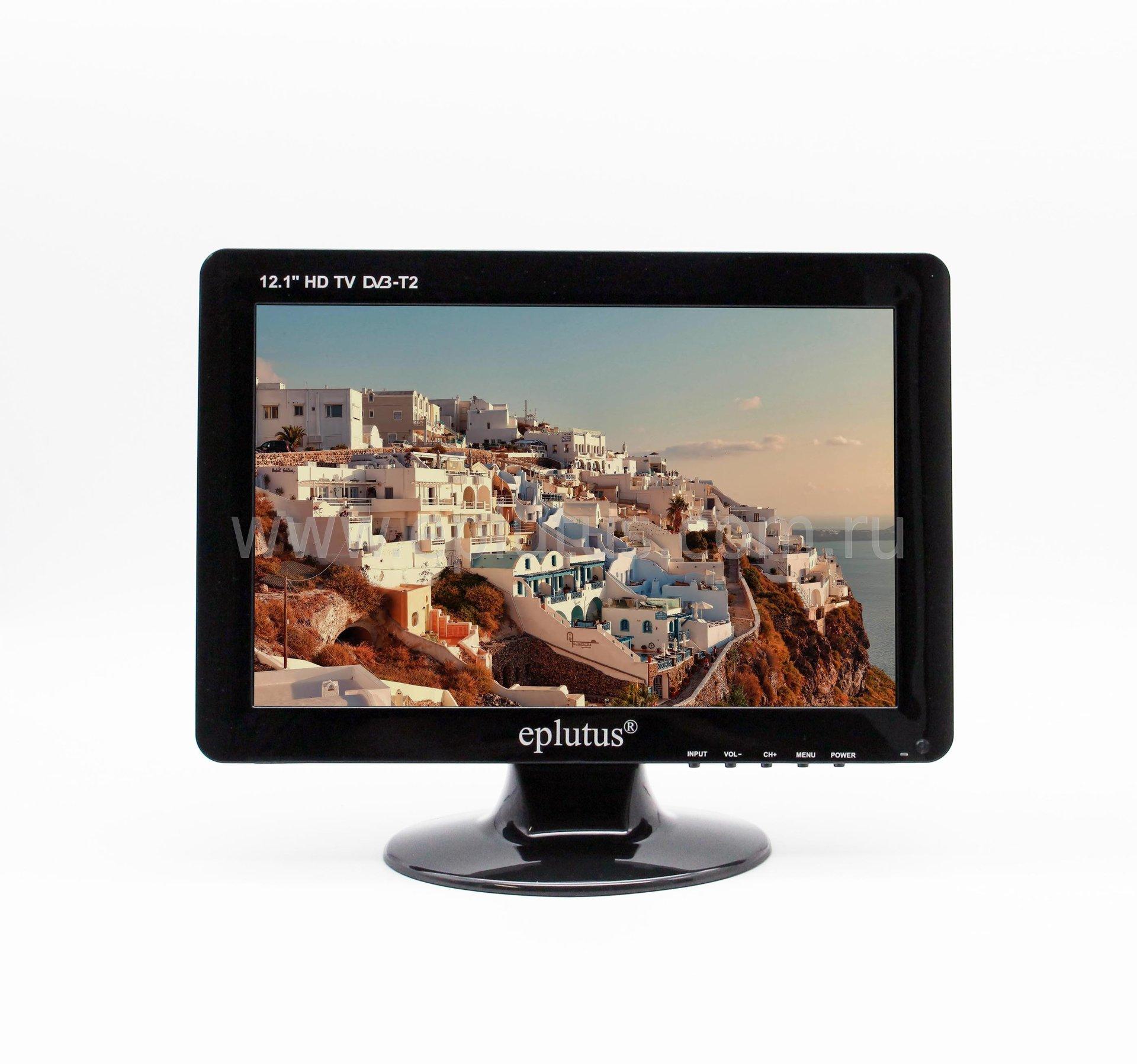 Автомобильный телевизор Eplutus EP-122T (+ Разветвитель в подарок!) телевизор 50 дюймов цена