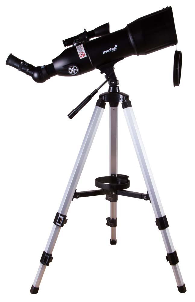 Телескоп Levenhuk Skyline Travel 80 (+ Книга «Космос. Непустая пустота» в подарок!)