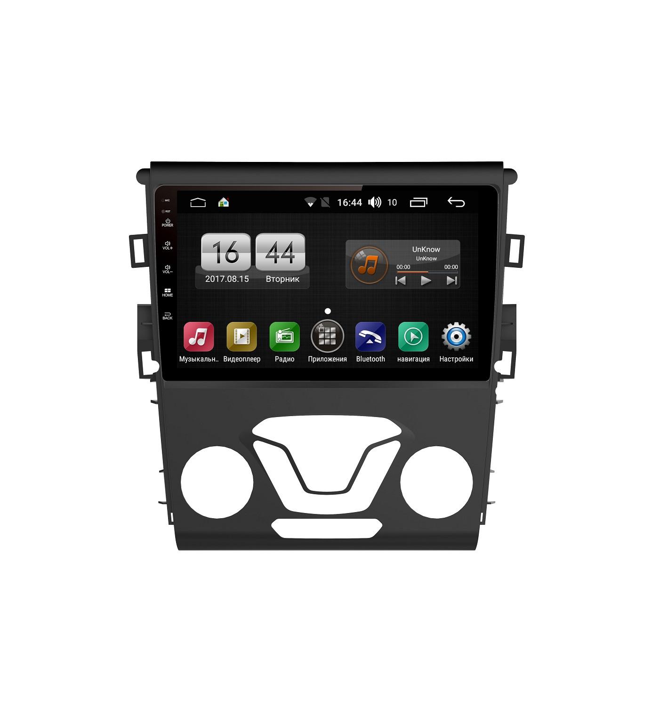 Штатная магнитола FarCar s185 для Ford Mondeo 2013+ на Android (LY377R) (+ Камера заднего вида в подарок!)