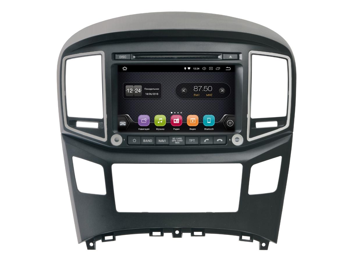 Штатная магнитола InCar TSA-2433 для Hyundai H1 2016+ (Android 8.0) штатная магнитола incar tsa 2243 для toyota camry 2014 2015 android 8 0