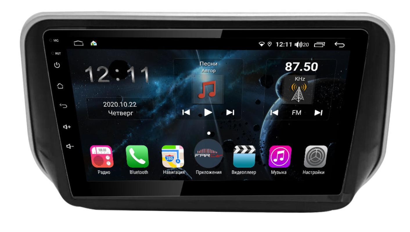 Штатная магнитола FarCar s400 для Hyundai Tucson 2018+ на Android (H1135R) (+ Камера заднего вида в подарок!)