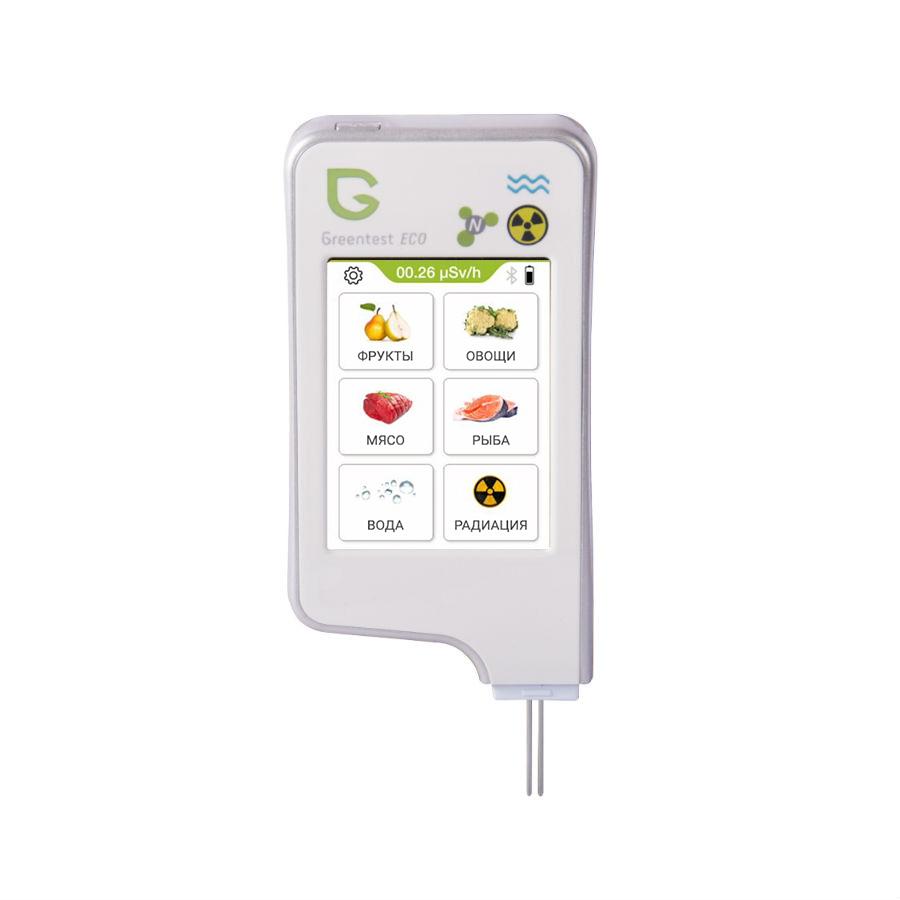Нитрат-тестер, измеритель жесткости воды и дозиметр GREENTEST ECO 6 дозиметр индикатор радиоактивности radex rd1503