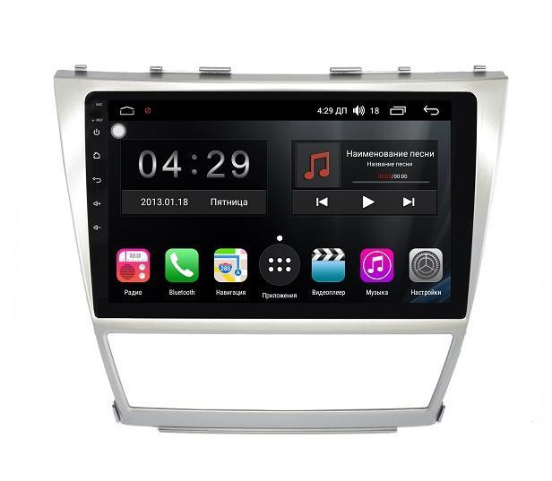 Штатная магнитола FarCar s300 для Toyota Camry на Android 8+ (RL064R) штатная магнитола carmedia ol 1006 8 c500 ii din универсальной установки
