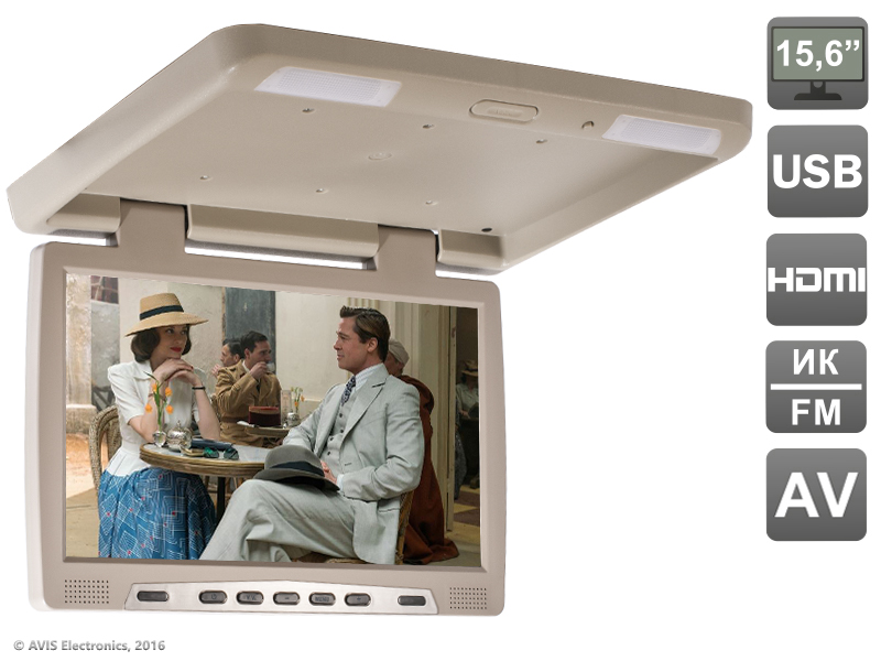 Фото - Потолочный автомобильный монитор 15,6 со встроенным медиаплеером AVIS Electronics AVS115 (бежевый) потолочный светильник globo marie i 48161 2