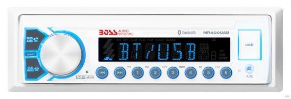 Влагозащищенная морская магнитола Boss Audio MR400UAB