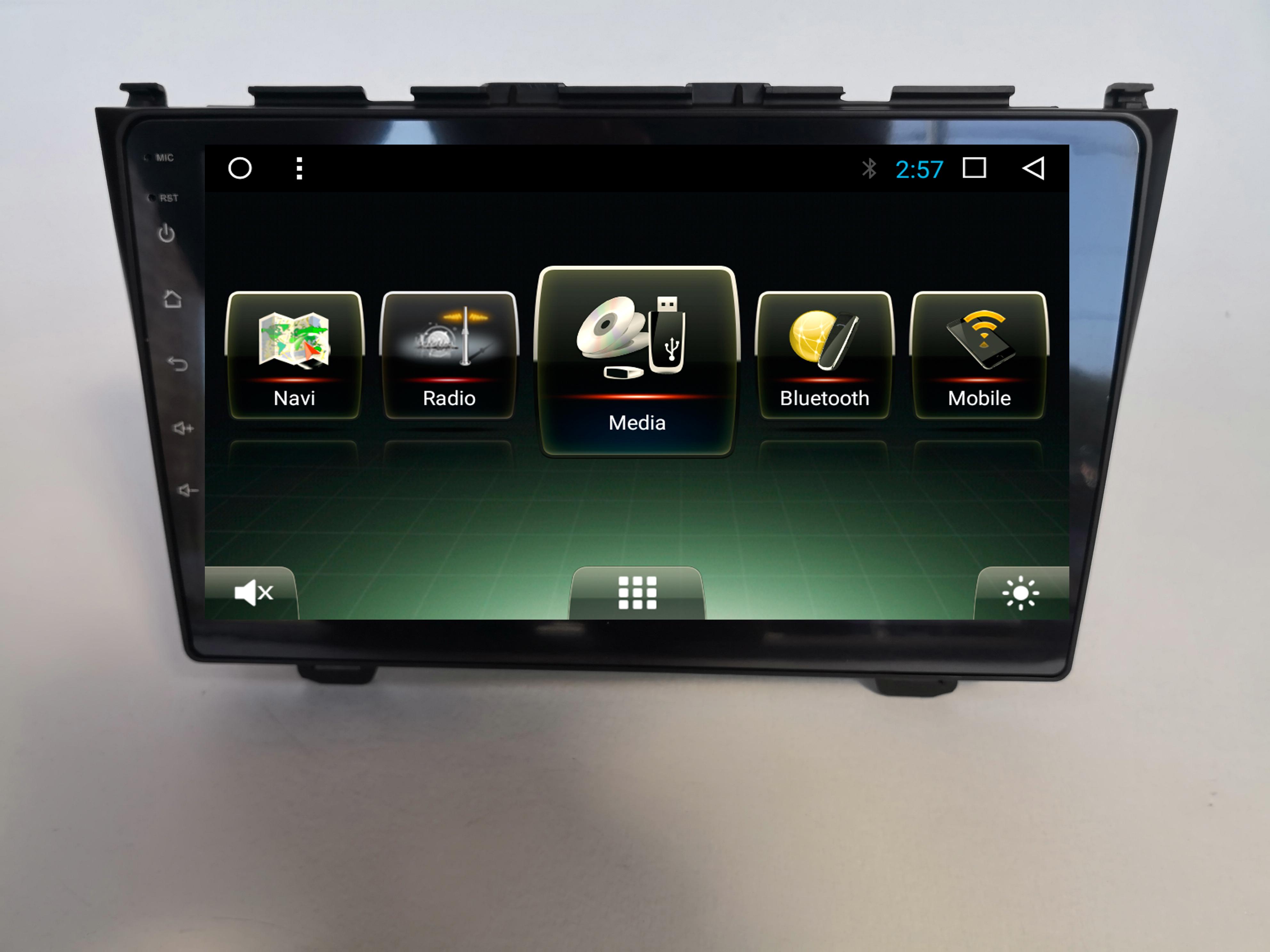 Штатная магнитола HONDA CRV III 2006-2012 (RE) на Android 7.1 CARMEDIA U9-6256-T8 штатная магнитола carmedia u9 6531 t8 bmw x5 2000 2006 e53 5 я серия 1996 2003 e39 7 я серия 1994 2001 e38 на android 7 1