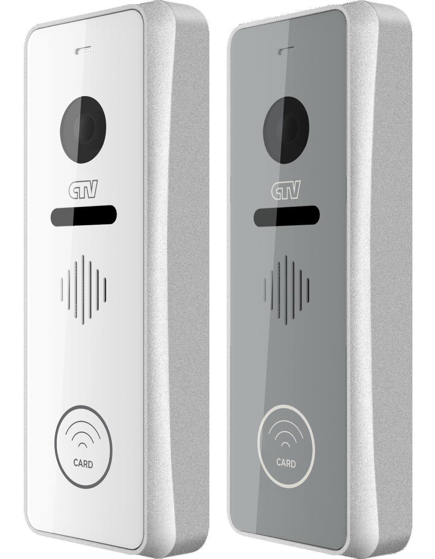 Вызывная панель для видеодомофонов CTV-D3002EM (серебристый) вызывная панель для видеодомофонов ctv d3001 серебристый