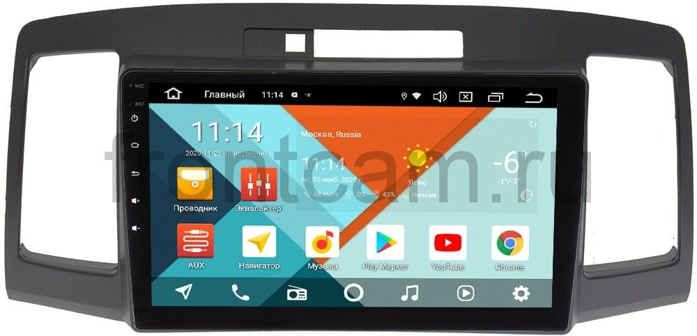 Штатная магнитола Toyota Allion I, Premio I (T24) Wide Media KS9172QR-3/32 DSP CarPlay 4G-SIM Android 10 (+ Камера заднего вида в подарок!)