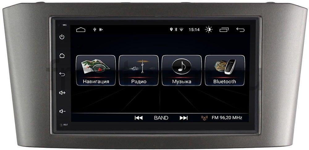 Штатная магнитола LeTrun 2380-RP-TYAV25Xc-09 для Toyota Avensis II (2003-2009) Android 8.0.1 MTK-L (+ Камера заднего вида в подарок!)