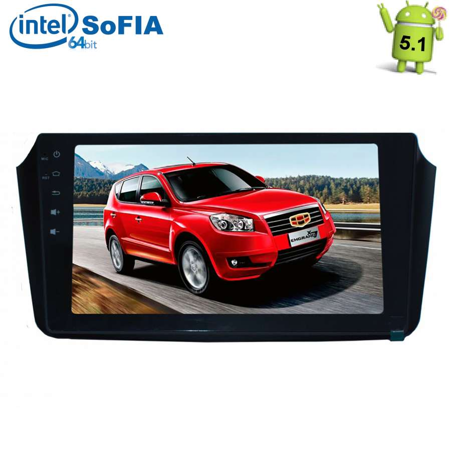 Штатная автомагнитола для Geely Emgrand X7 2011-2017 LeTrun 1891 Android 5.1 Intel SoFIA otojeta vertical 10 4 inch android 6 0 car dvd player for 2017 vw magotan gps navi headunit auto radio stereo