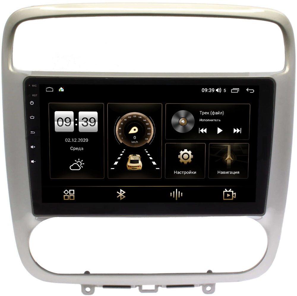Штатная магнитола LeTrun 4166-9-294 для Honda Stream 2000-2006 на Android 10 (4G-SIM, 3/32, DSP, QLed) (+ Камера заднего вида в подарок!)