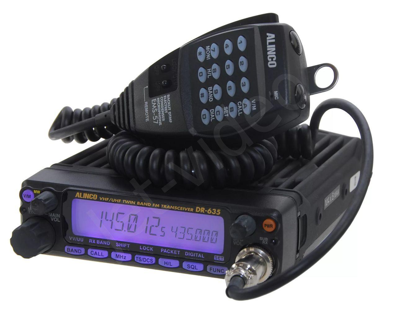 Автомобильная рация ALINCO DR-635T антенна для рации alinco ea 500uv
