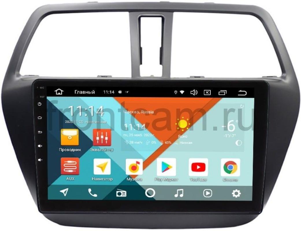 Штатная магнитола Suzuki SX4 II 2013-2018 Wide Media KS9217QR-3/32 DSP CarPlay 4G-SIM на Android 10 (+ Камера заднего вида в подарок!)