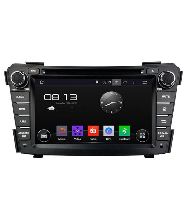Штатная магнитола для Hyundai I40 (2011+) CARMEDIA KD-7029-P3-7 на Android 7.1 штатная магнитола carmedia kd 1000 p3 7 универсальная установка ii din