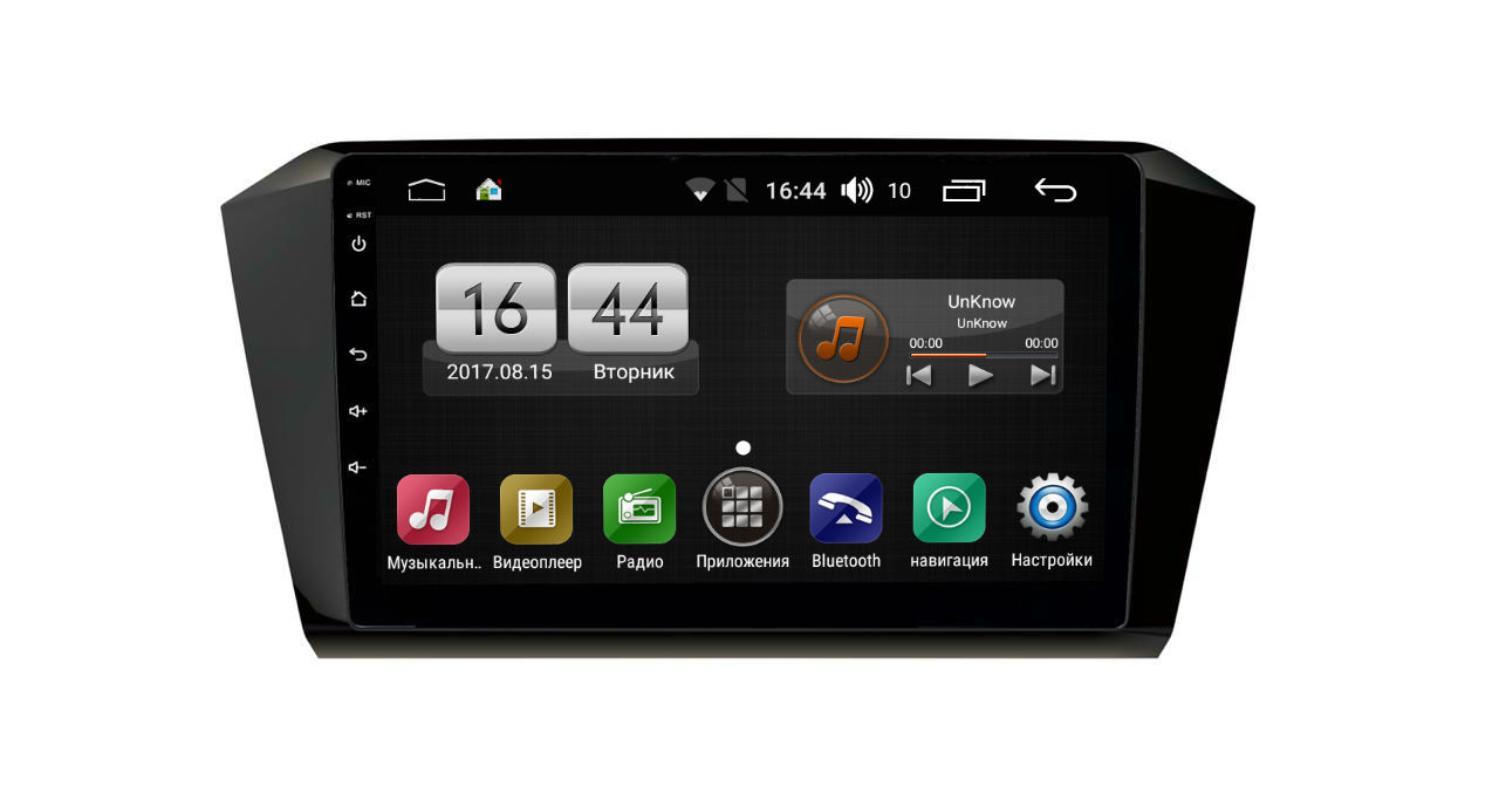 Штатная магнитола FarCar s195 для VW Passat на Android (LX518R) (+ Камера заднего вида в подарок!)