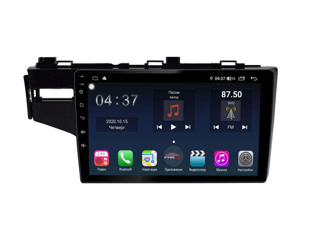 Штатная магнитола FarCar s400 для Honda Fit на Android (TG1185R) (+ Камера заднего вида в подарок!)