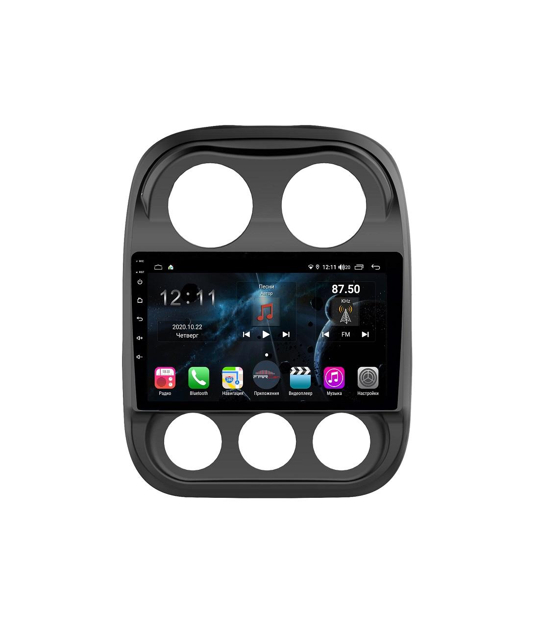 Штатная магнитола FarCar s400 для Jeep Compass I на Android (H1078R) (+ Камера заднего вида в подарок!)