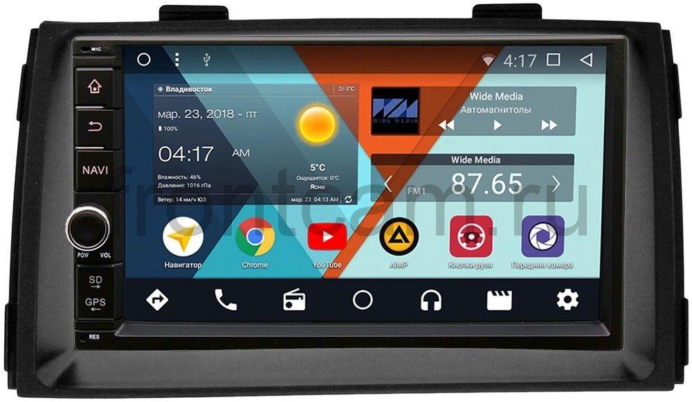 Штатная магнитола Wide Media WM-VS7A706NB-RP-KISRd-28 для Kia Sorento II 2009-2012 Android 7.1.2 (+ Камера заднего вида в подарок!)