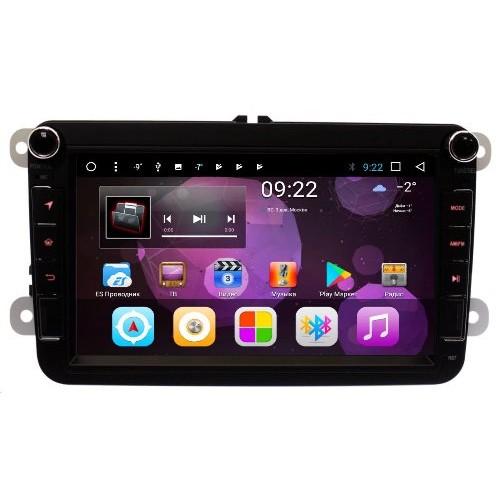 Штатная магнитола Volkswagen universal (с кнопками) 2/32 GB IPS Vomi ST1689-T8 Android 8.1 (+ Камера заднего вида в подарок!)