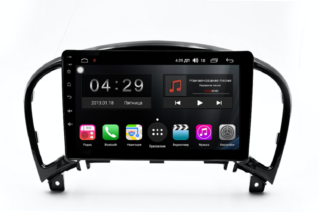 Штатная магнитола FarCar s300-SIM 4G для Nissan Juke на Android (RG749R) (+ Камера заднего вида в подарок!)