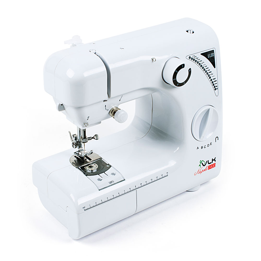 Швейная машина VLK Napoli 2400 (белый) швейная машина endever vlk napoli 1400