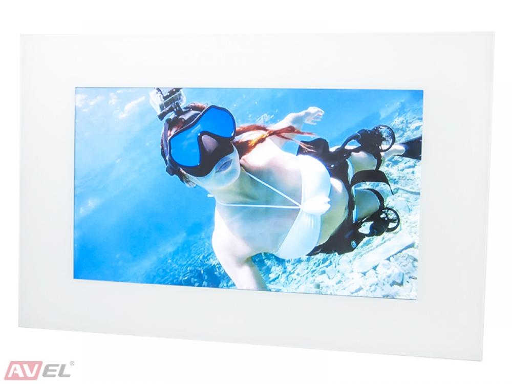 Телевизор AVS270FS (белая рамка)