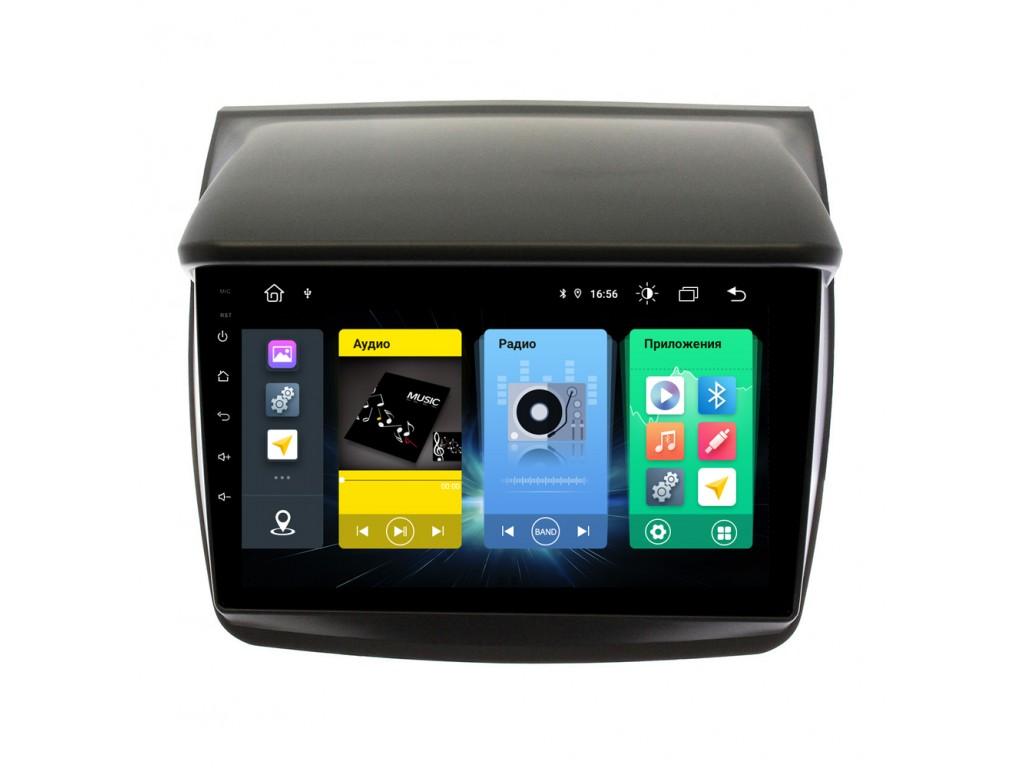 Головное устройство vomi FX334R9-MTK-LTE для Mitsubishi PajeroSport 2, L200 (+ Камера заднего вида в подарок!)