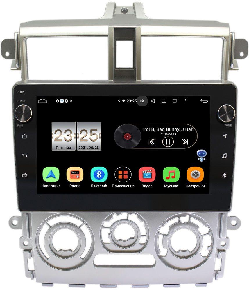 Штатная магнитола LeTrun BPX409-9386 для Mitsubishi Colt VI 2002-2012 Тип2 (серая) (правый руль) на Android 10 (4/32, DSP, IPS, с голосовым ассистентом, с крутилками) (+ Камера заднего вида в подарок!)