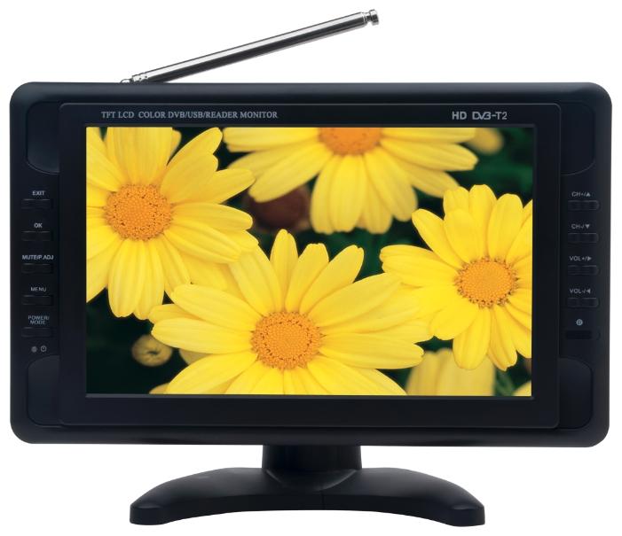 Автомобильный телевизор Eplutus EP-101T автомобильный телевизор eplutus ep 900t