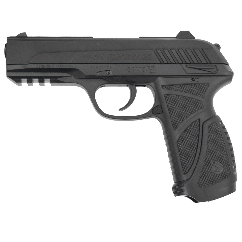 Подарочный комплект GAMO PT-85 (Пистолет PT-85, 5 баллончиков CO2 Daisy (12гр.), PISTOL PRO 4,5мм (250шт)