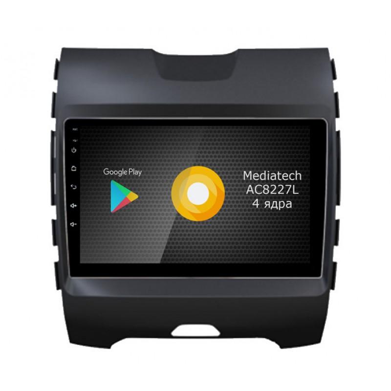 Штатная магнитола Roximo S10 RS-1712 для Ford Edge (Android 8.1) (+ Камера заднего вида в подарок!)