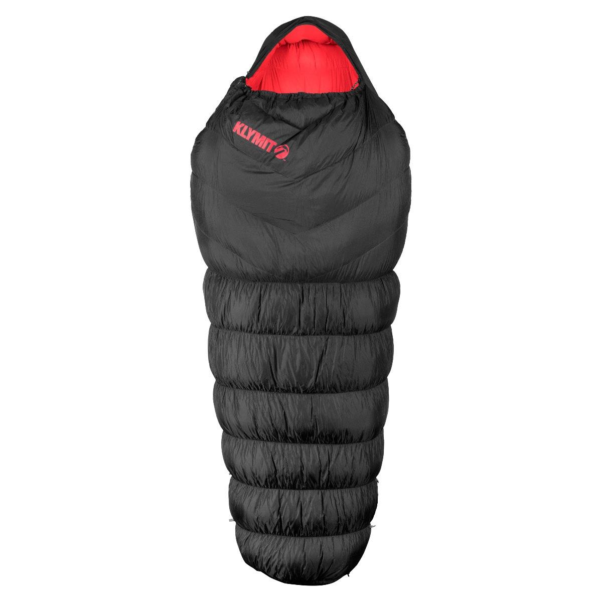 Спальный мешок Klymit KSB 0˚, черно-красный (13KZBK01D)