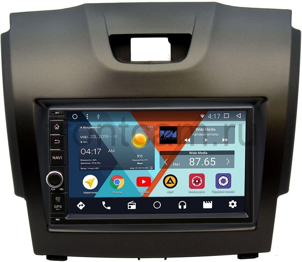 Штатная магнитола Wide Media WM-VS7A706NB-RP-CVTB-20 для Chevrolet Trailblazer II 2012-2016 Android 7.1.2 (+ Камера заднего вида в подарок!)