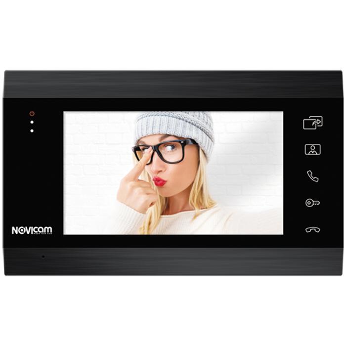 Монитор HD домофона с записью Novicam MAGIC 7 DARK (+ Салфетки из микрофибры в подарок)
