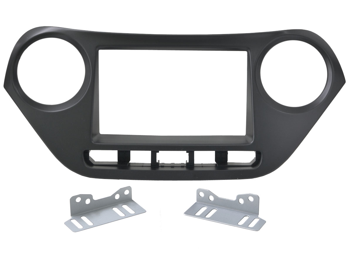 Переходная рамка Intro RHY-N43 для Hyundai i-10 2DIN крепеж переходная рамка incar rhy n52 для hyundai i 20 крепеж