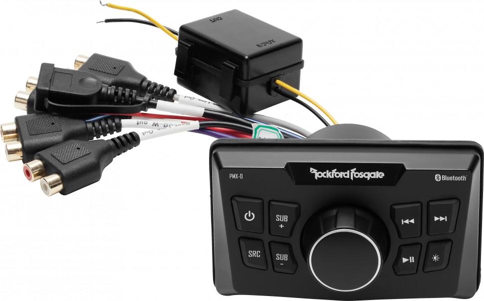 Фото - Панель управления Rockford Fosgate PMX-0 с Bluetooth и аудиовыходами (+ Салфетки из микрофибры в подарок) варочная панель газовая candy cvg 64 sgb белый