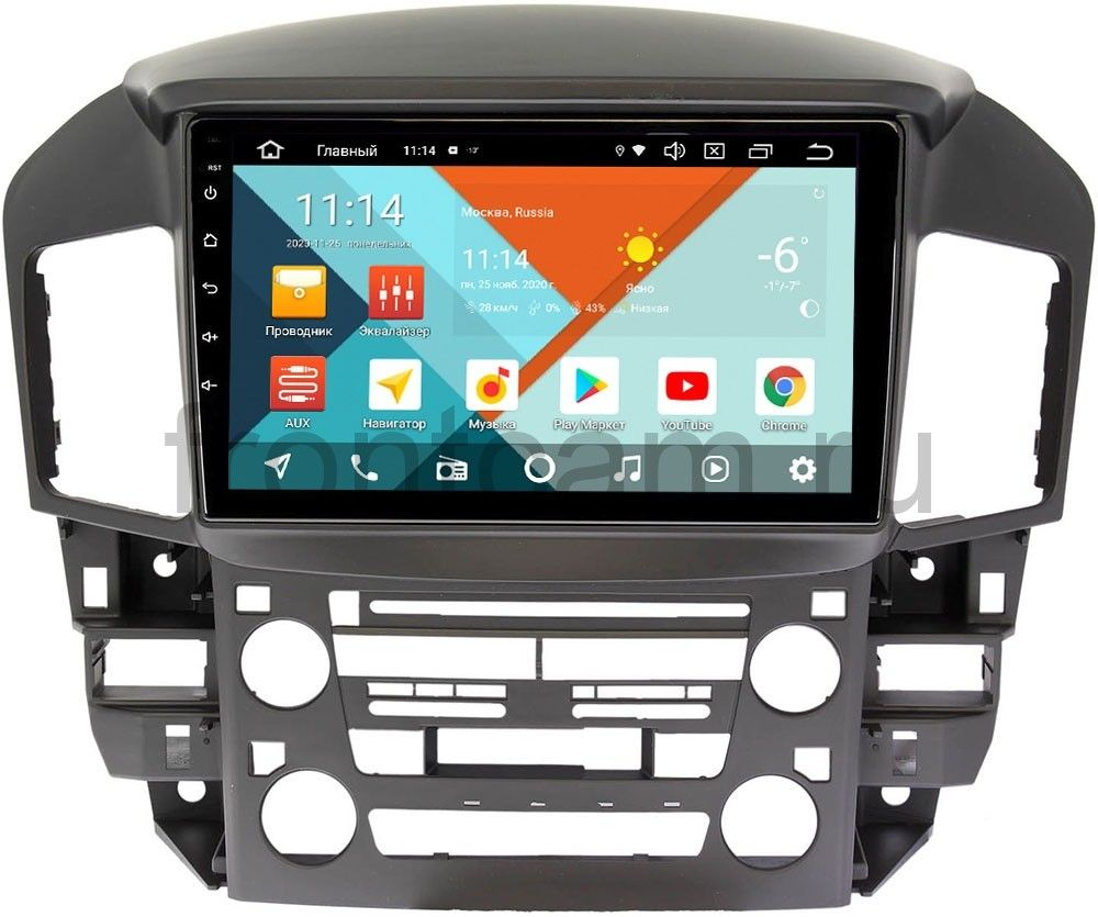 Штатная магнитола Lexus RX I 300 Wide Media KS9218QR-3/32 DSP CarPlay 4G-SIM на Android (+ Камера заднего вида в подарок!)