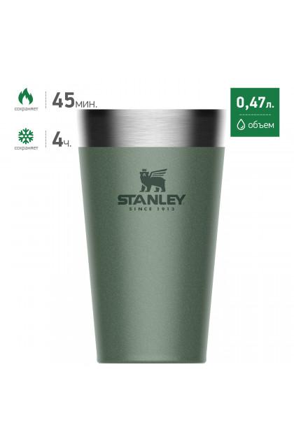 Пинта STANLEY Adventure 0,47L Зеленая 10-02282-057