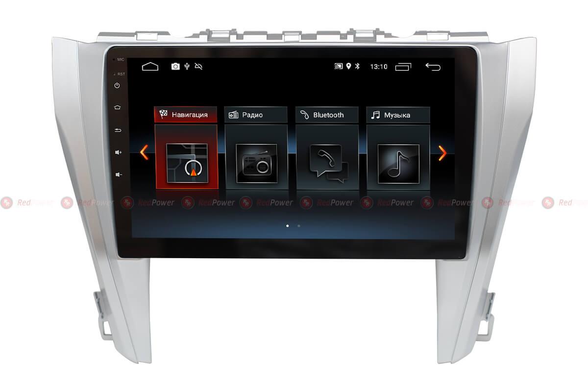 Автомагнитола Redpower 30231 IPS Toyota Camry XV55 Рестайлинг (2014-2017) Android 8.1 (+ Камера заднего вида в подарок!)
