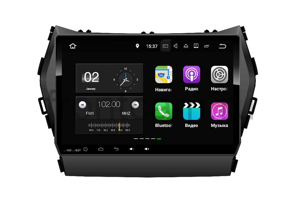Штатная магнитола FarCar s130+ для Hyundai Santa-Fe 2012 Big Screen на Android (W209) штатная магнитола farcar s130 для hyundai santa fe 2012 big screen на android w209