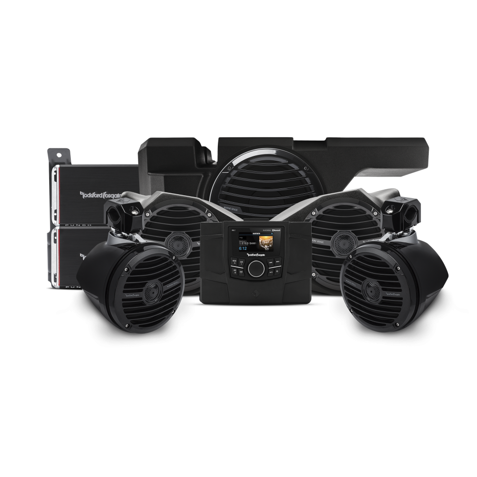 Штатная акустическая система Rockford Fosgate для Polaris RZR 2014-2019 (stage4)