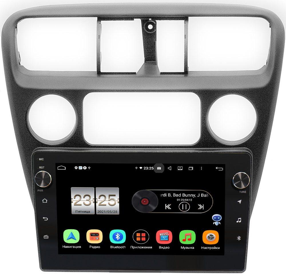 Штатная магнитола LeTrun BPX409-299 для Honda Accord 6 (VI) 1997-2002 на Android 10 (4/32, DSP, IPS, с голосовым ассистентом, с крутилками) (+ Камера заднего вида в подарок!)