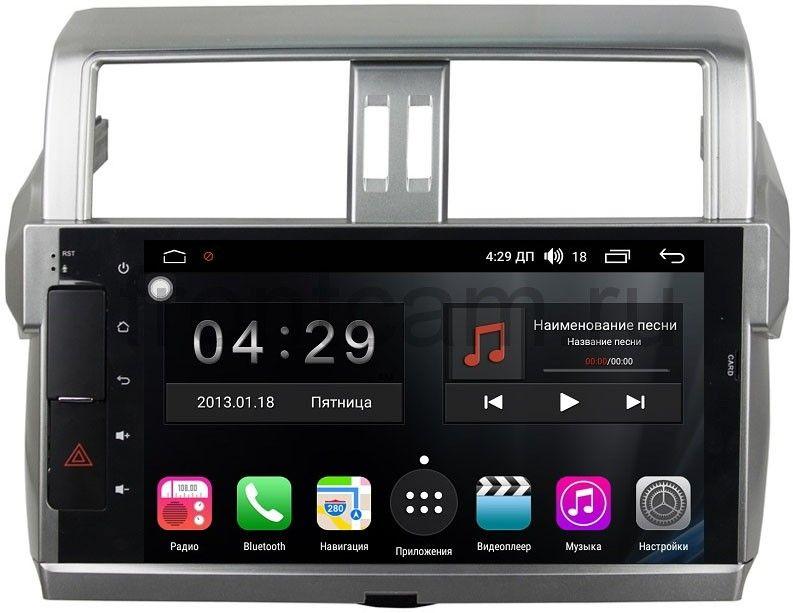 Фото - Штатная магнитола FarCar s300-SIM 4G для Toyota Land Cruiser Prado 150 2013+ на Android (RG531) (+ Камера заднего вида в подарок!) штатная магнитола roximo 4g rx 1113 для toyota land cruiser 200 2015 android 6 0