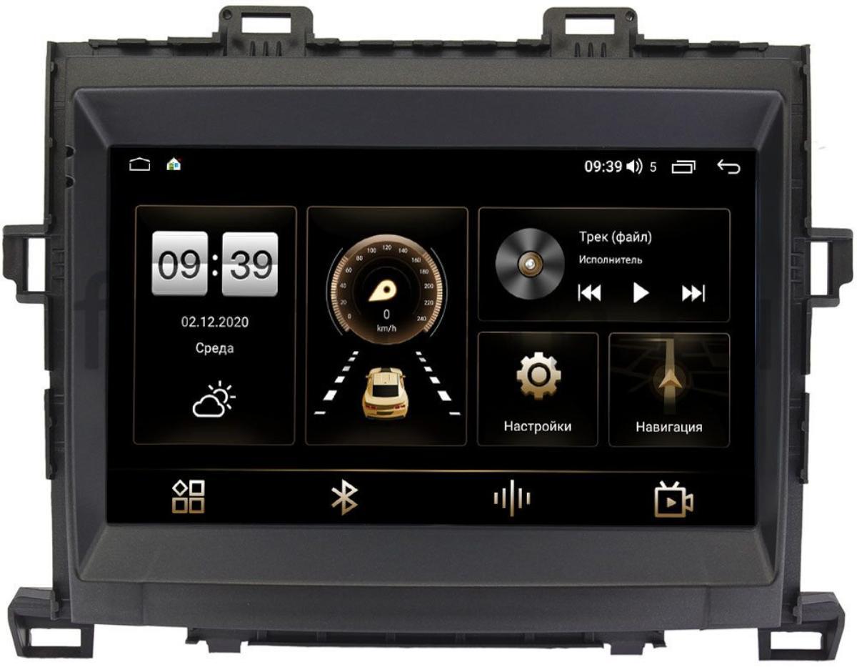 Штатная магнитола Toyota Alphard II, Vellfire I, Estima III 2006-2018 LeTrun 4166-9156 на Android 10 (4G-SIM, 3/32, DSP, QLed) (+ Камера заднего вида в подарок!)