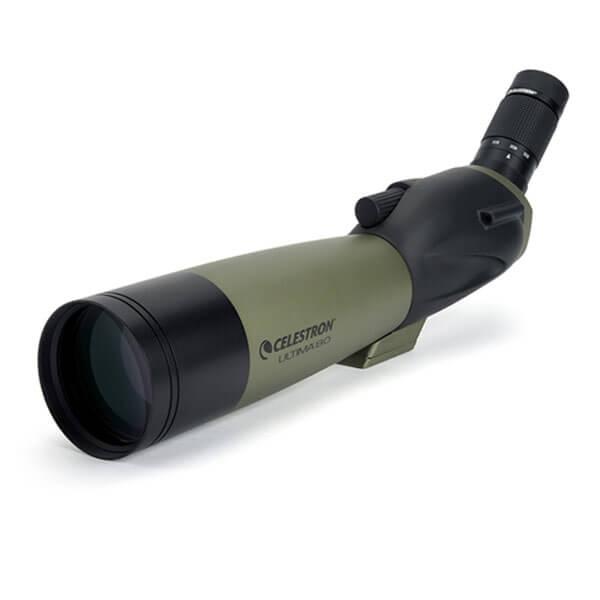 Зрительная труба Celestron Ultima 80 - 45 (+ Салфетки из микрофибры в подарок) зрительная труба veber snipe super 20 60x80 gr zoom