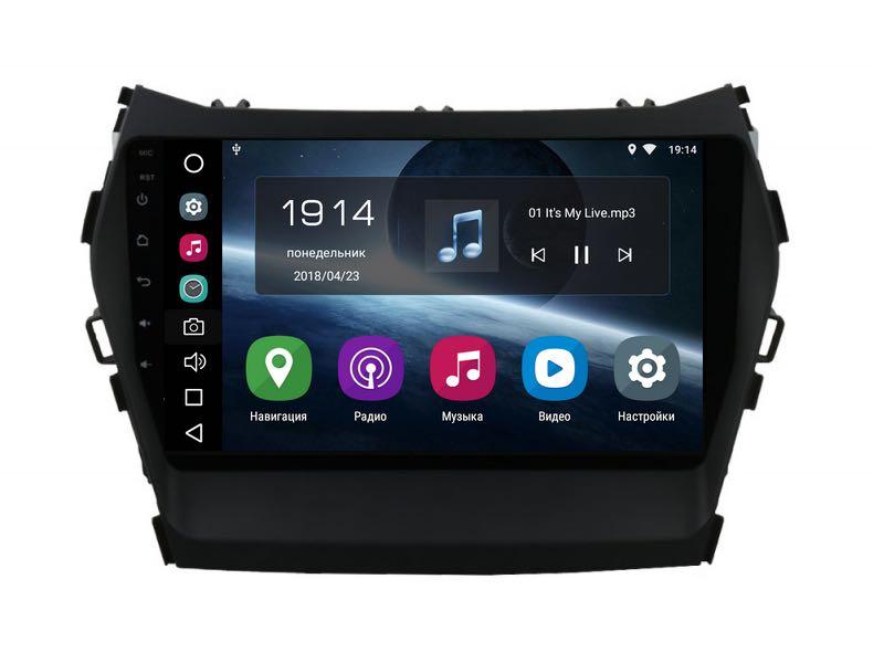 Штатная магнитола FarCar s200 для Hyundai Santa Fe 2012+ на Android (V209R) штатная магнитола farcar s130 для hyundai solaris 2010 r067