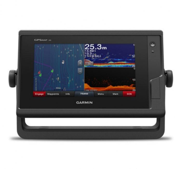 Картплоттер с эхолотом Garmin GPSMAP 722xs PLUS (+ Леска в подарок!) автомобильный набор для навигатора garmin oregon colorado dakota gpsmap 62 64