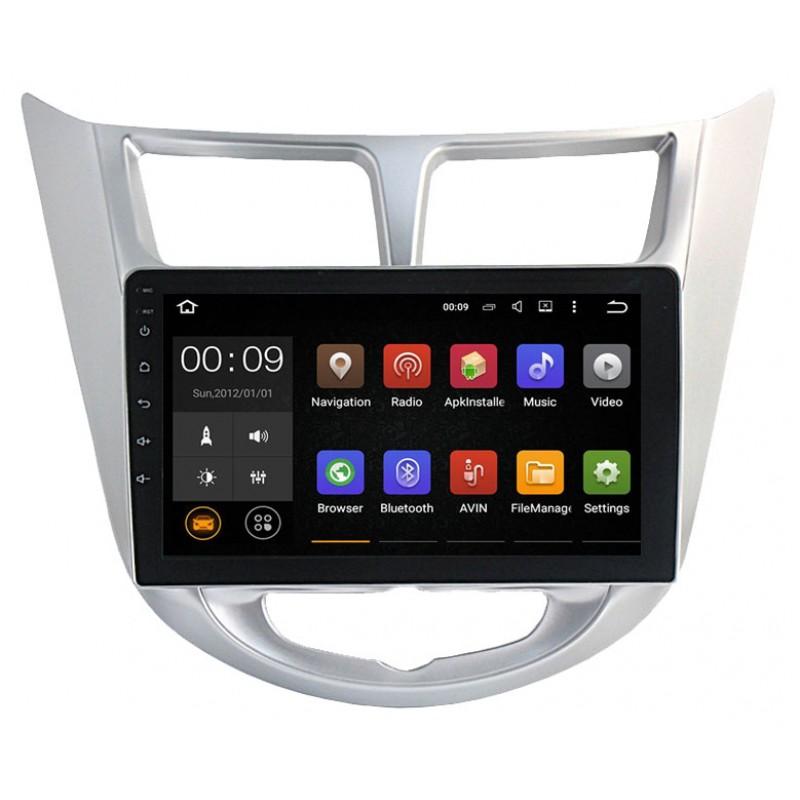 Штатная магнитола Roximo 4G RX-2003 для Hyundai Solaris (Android 6.0) (+ Камера заднего вида в подарок!) штатная магнитола roximo 4g rx 3707 для volkswagen polo android 6 0 камера заднего вида в подарок