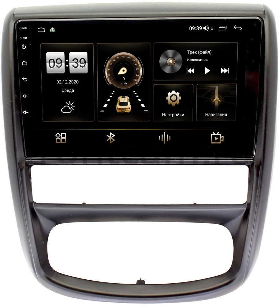 Штатная магнитола LeTrun 4196-9275 для Renault Duster 2010-2015 на Android 10 (6/128, DSP, QLed) С оптическим выходом (+ Камера заднего вида в подарок!)