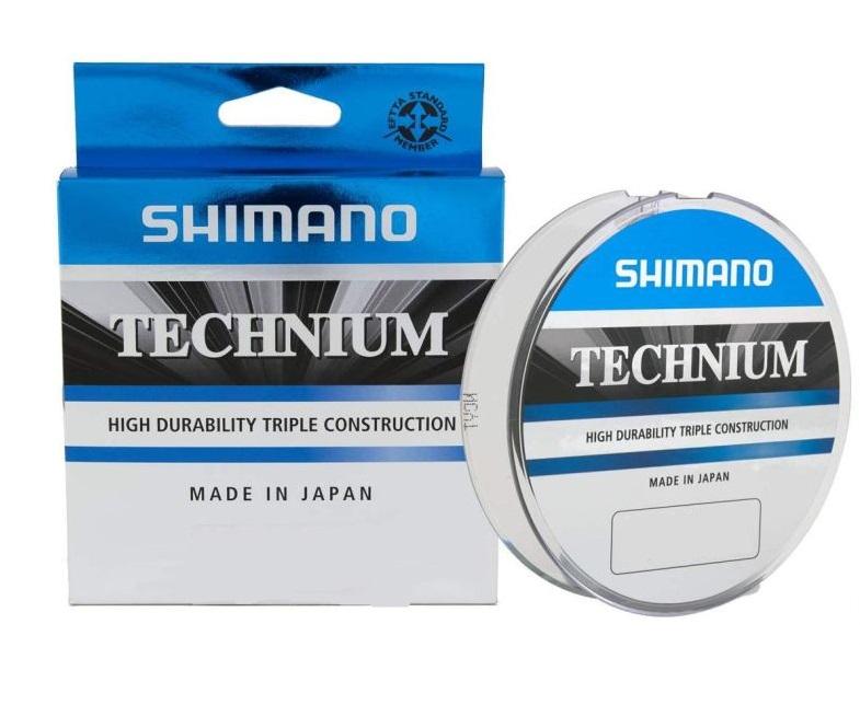 Леска SHIMANO Technium 200м черная 0.225мм 5кг